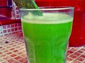 Licuado verde nopal