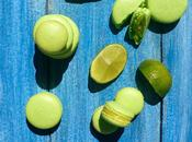 Macarons lima (con merengue italiano)
