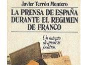 prensa España durante régimen Franco: intento análisis político