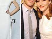 Leighton Meester Antonio Berardi Dolce&Gabbana Tony Awards