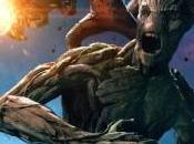Groot Mapache Cohete nuevo póster Guardianes Galaxia