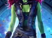 Gamora nuevo póster Guardianes Galaxia
