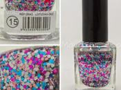 Easy Paris coat glitter rosa, azul blanco