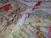 Cómo imprimir servilleta papel