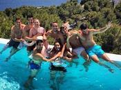 Novak Djokovic celebra despedida soltero Ibiza