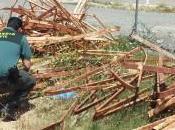 Guardia Civil detiene personas sustraer toneladas hierro