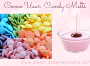 Cómo usar Candy Melts