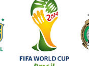 Partido Brasil México Liderato Grupo Mundial 2014