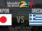 Partido Japon Grecia Grupo Mundial 2014