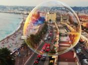 Barcelona través burbuja, expo fotos Hotel Méridien
