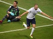 Goleada Francia Suiza