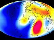 norte magnético desplaza hacia Siberia
