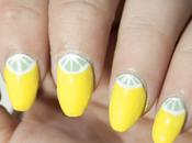NOTD: Uñas verano lima limón