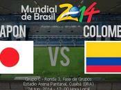 Japón Colombia Grupo Mundial Brasil 2014
