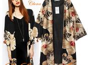 Kimono orquideas asos Aliexpress
