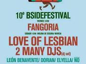 B-Side Festival: Fangoria, León Benavente, Love Lesbian, 2ManyDjs...