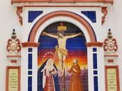 retablo cerámico Cristo Buen Fin.