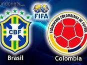 Brasil Colombia cuartos final Mundial