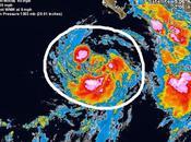 """tormenta tropical """"Douglas"""" forma Pacífico"""