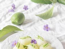 Cubitos dulces limón
