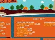 Horarios Festival Norte 2014