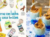 Arroz leche coco Brûlee