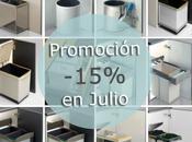 Prolongamos promoción sobre cubos basura hasta julio.