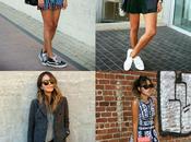 Sporty Chic. nueva moda casual. mano Nike