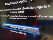 Apple está actualizándose versión