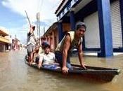 Fracturas desfogue presas intensas lluvias generan desplazados cambio climático