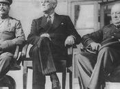 tres conferencias: Teherán, Yalta, Postdam