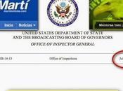 Auditoría Departamento Estado constata corrupción transmisiones ilegales contra Cuba