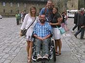 amistad coraje viajan silla ruedas