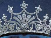 Tiara Nueve Puntas Casa Real Suecia