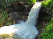 Minnehaha falls. Minneapolis.