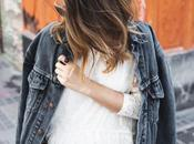 Lace Dress Denim Jacket