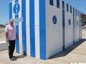 Instalan módulos para personas movilidad reducida playa Ayuntamiento Benicàssim