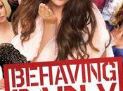 "Nuevo póster ""behaving badly"" selena gomez wolff"