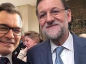 Mariano Rajoy Artur hacen selfie