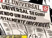 "Caricatura sobre venta Universal"""