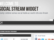 Publica feeds Social Stream Widget