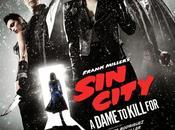"""Nuevo cartel """"sin city: dama matar"""" reparto principal"""