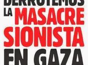 Abajo agresion sionista gaza