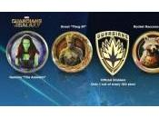 Pines oficiales Guardianes Galaxia
