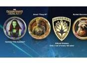 Pines oficiales Guardianes Galaxia