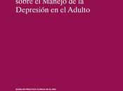 Manejo depresión adulto MSSSI España