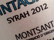 Sintagma: Syrah 2012 (D.O. Montsant)