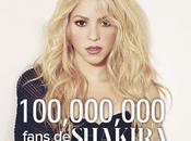 Shakira supera millones seguidores Facebook