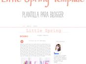 Plantilla Prediseñada para Blogger -Little Spring-