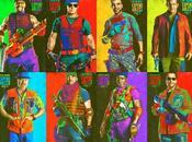 """Coloridos pósters para comic """"los mercenarios"""